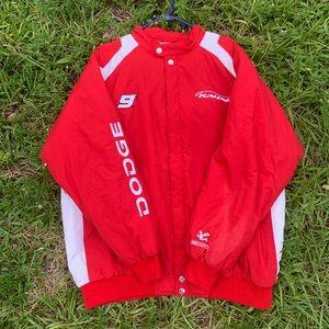 Vintage Chase authentics dodge nascar jacket